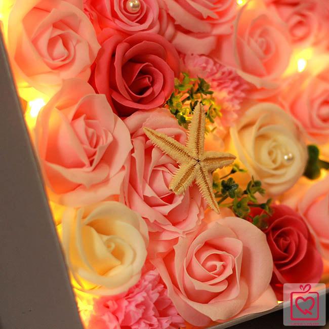 hoa sáp đèn led