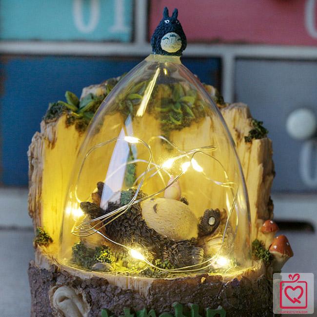 Hộp đèn dây tóc phát sáng Totoro