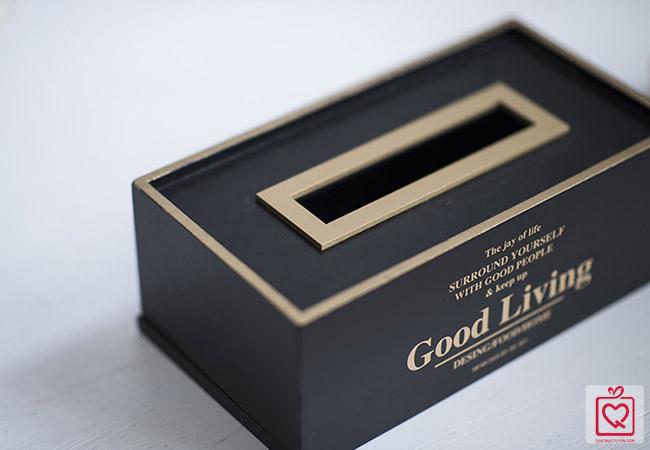 Hộp gỗ đựng giấy