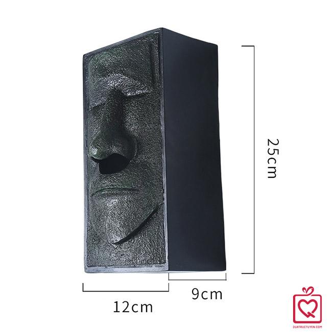 hộp đựng giấy tượng đá moai