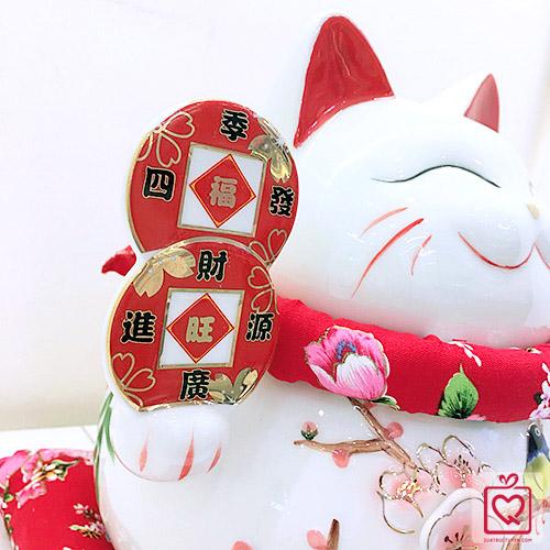 Mèo Thần Tài Tài Lộc Phú Quý