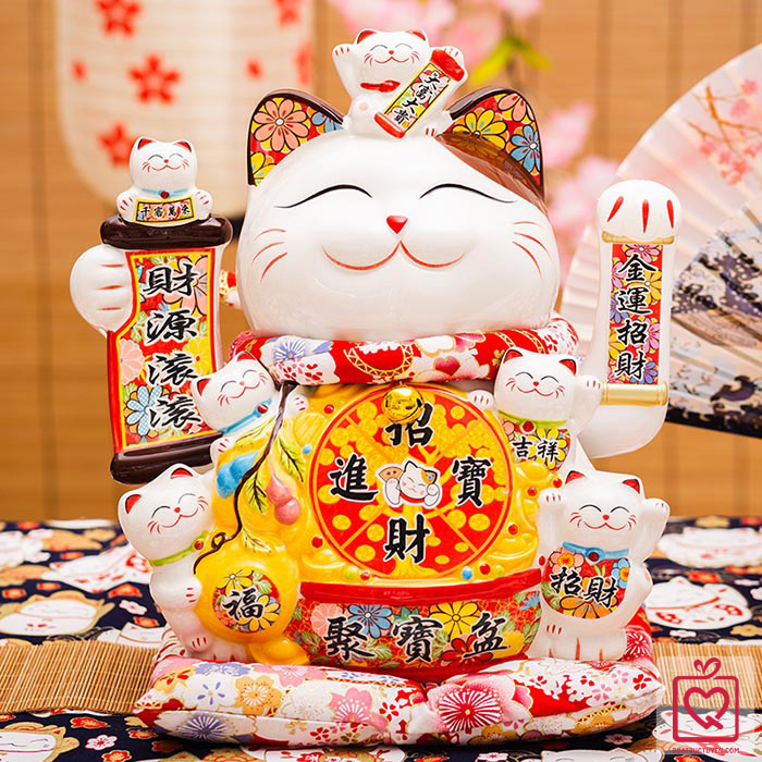 Mèo vẫy tay Khai Trương Đắc Lộc 0844 - 29cm