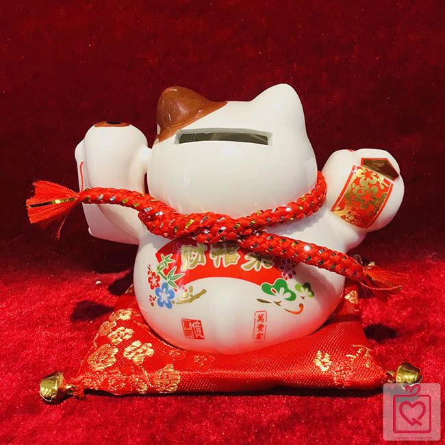 Mèo thần tài-Phú quý cát tường-40218