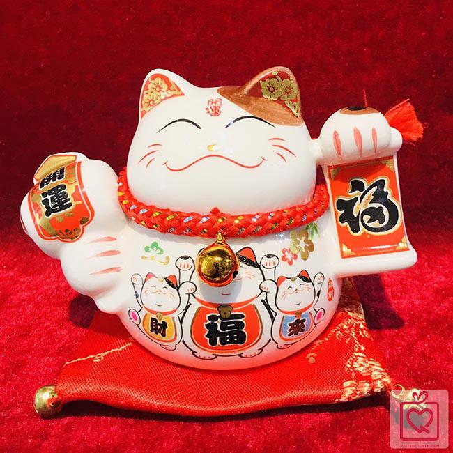 Mèo thần tài- Phúc lộc vô biên 40219
