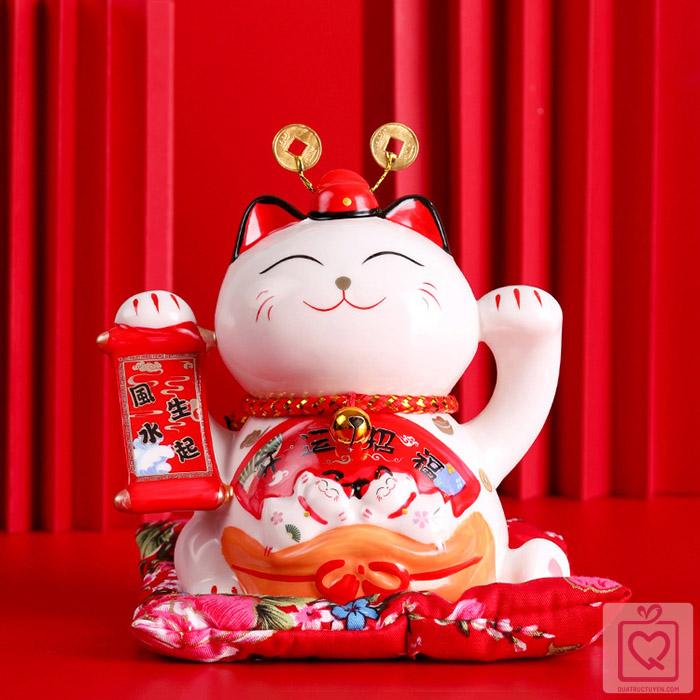 Mèo Thần Tài - Tài Lộc Tấn Tới-11cm