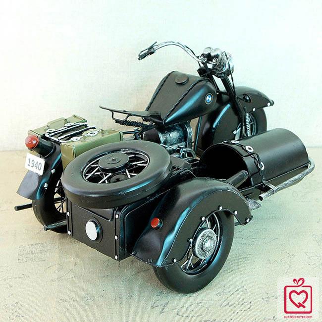 mô hình xe 3 bánh sidecar