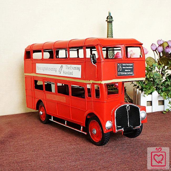 mô hình xe bus 2 tầng