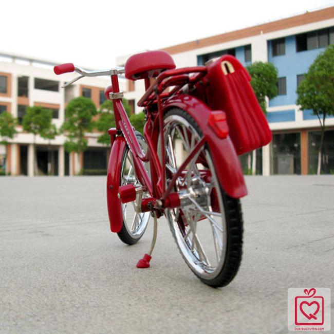 mô hình xe đạp cổ
