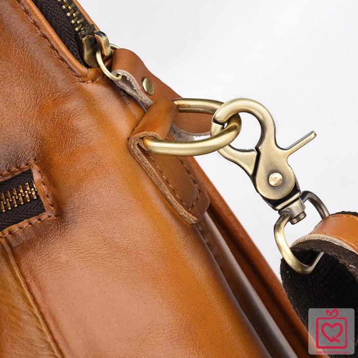 Túi xách nam da bò cao cấp - đeo vai đeo chéo