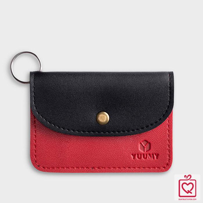 Ví móc khóa da thời trang YUUMY YMK3